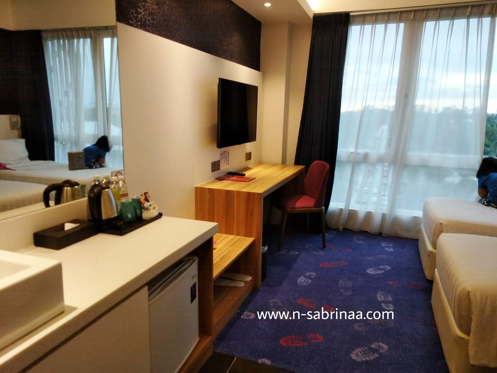 Pengalaman menginap hotel Amerin Johor Bahru