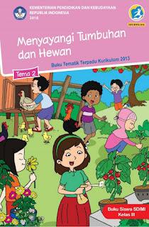 Buku Tematik Terpadu K13 Kelas 3 SD Tema 1