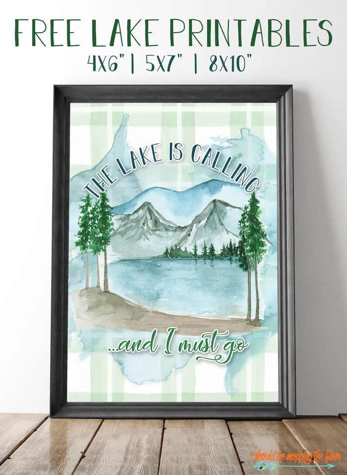 Lake Art Printables