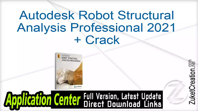 Autodesk Robot Structural Analysis Professional 2021 + Crack
