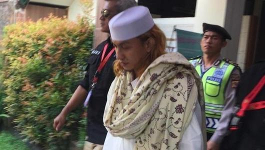 Jalan Menunduk, Habib Bahar Siap Jalani Sidang Perdana