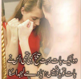 Urdu Shayari For Lover in urdu