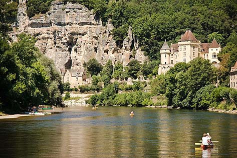 Dordogne river by Jos Dielis / Flickr - Licence Creative Common (by)