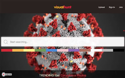 موقع visualhunt