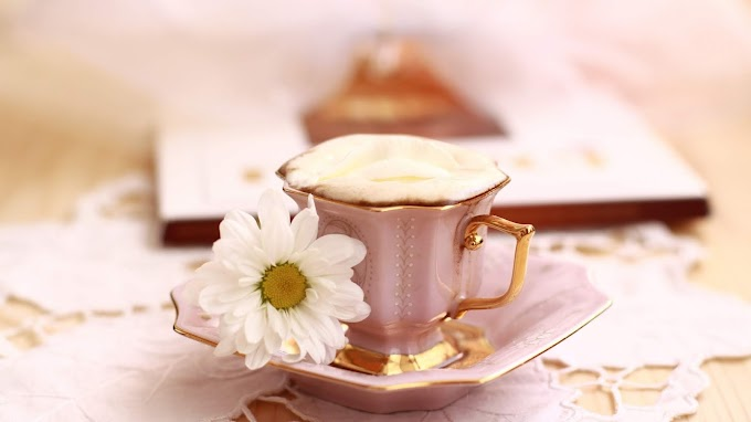 Café da Manhã, Flores, Estilo de Vida, Fotografia