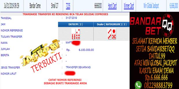 Idn Poker Memberikan Bukti Jackpot Bandar Ceme kartu 6 Dewa Member Bandarbetqq