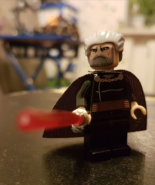 Count Dooku Clone Wars Star Wars lego fan art