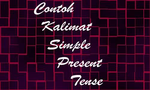 Contoh Kalimat Simple Present Tense Verbal Nominal dengan Arti