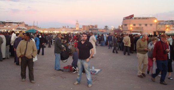 Plaza más famosa de Marrakech