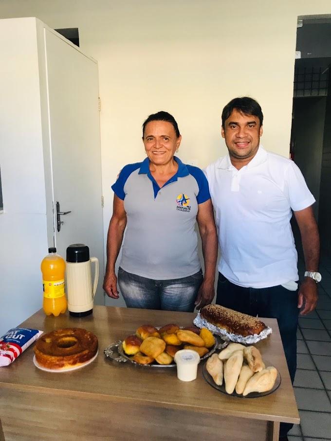 Morre no HRC  Dona Marilene a mulher do Café da Arapuan FM