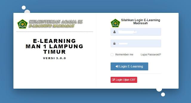 Susah Masuk E-Learning Madrasah Bagi Siswa ini masalahnya