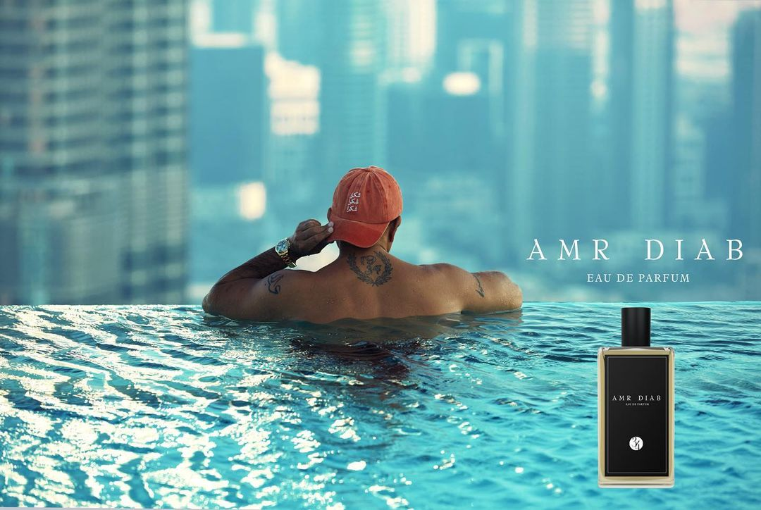 Superstar Amr Diab launches perfume