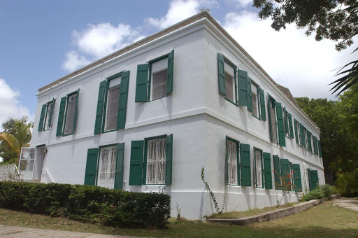 Estate Grange, the plantation of James and Ann Lytton, figured prominently in Hamilton's childhood. His mother, aunt, and grandmother lived here, and his mother was buried here.