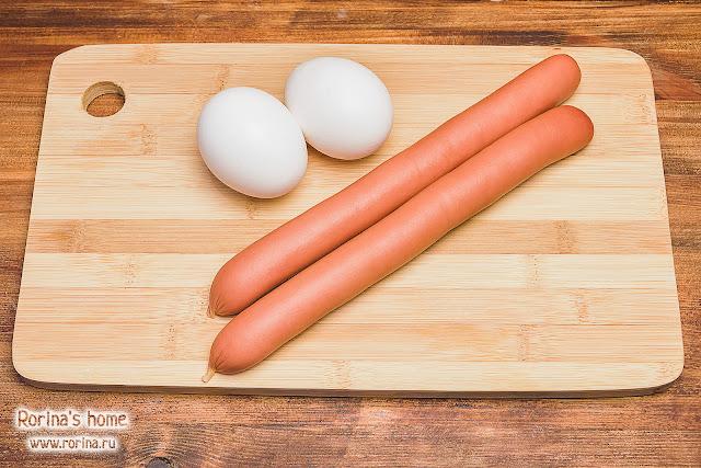 Яичница с сосисками: идеи для завтрака