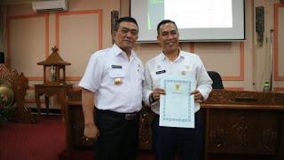 Walikota Motivasi Kepada Para Pimpinan SKPD Unttuk Bekerja Lebih Lagi