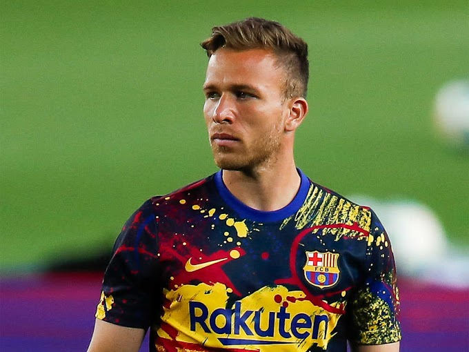 Arthur was not allowed into Camp Nou by Barca officials