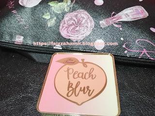 Too Faced Peach Blur Translucent Smoothing Finishing Powder ~ Mudah, Ringkas & Sweet