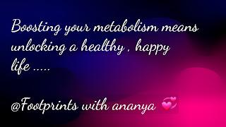 metabolism benifits