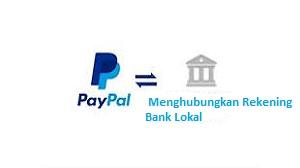 Menghubungkan Rekening Bank Lokal