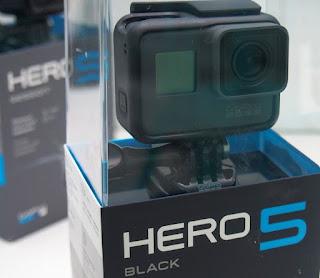 GoPro Hero 5 Black - Baru ( Touch-Screen )