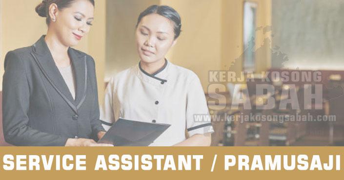 Kerja Kosong Sabah 2021 | SERVICE ASSISTANT / PRAMUSAJI