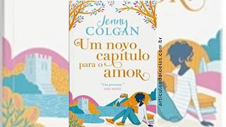 Capa divulgação do livro Um novo capítulo para o amor – Jenny Colgan