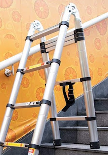 Telescopic Ladder Telescoping A-Type Extension Multi Purpose