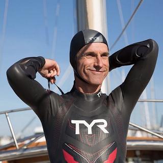 Marathon swimmer Ben Lecomte