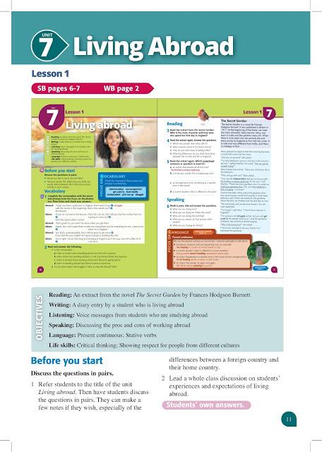 دليل المعلم Teacher's Guide الصف الثانى الثانوى الترم الثانى 2021 موقع دروس تعليمية اون لاين