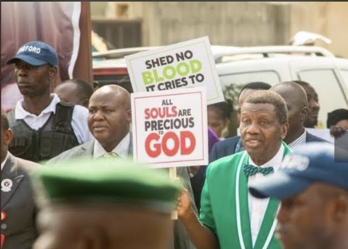RCCG Endorses #EndSARS, Issues Press Release To Identify With Protesters