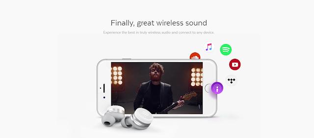 HERE ONE WIRELESS EARBUDS - Bragi New Headphones