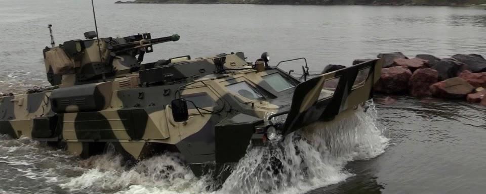 Морська піхота випробувала свій новий БТР (ВІДЕО)