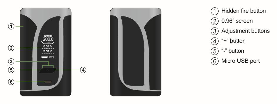 The User Manual for iKuun i200 Vape Mod