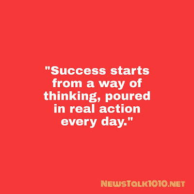 Quote of success and failure