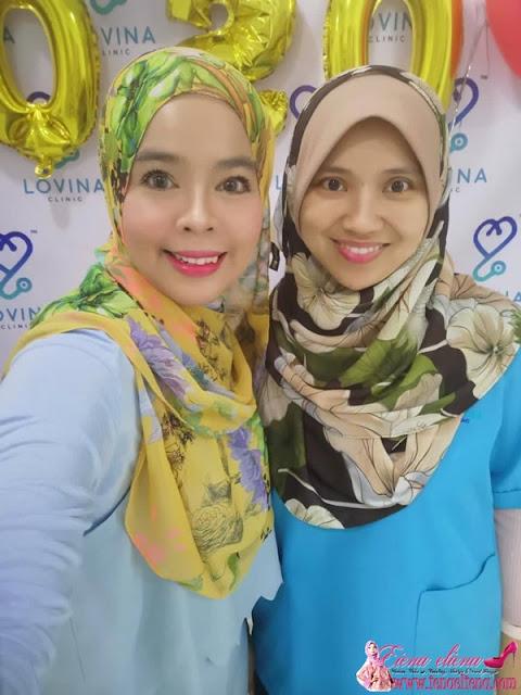 Rawatan Diamond Silk Peel - Aquamarine di Lovina Clinic Wangsa Melawati