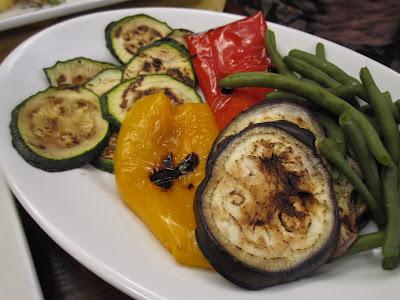 Venice, Al Vecio Forner, grilled vegetables