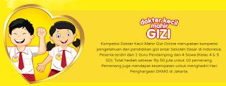 Kompetisi Dokter Kecil Mahir Gizi Online merupakan kompetisi pengetahuan dan pendidikan gizi antar Sekolah Dasar di Indonesia.