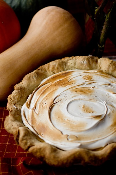 Roasted Butternut Squash Pie with Brown Sugar Marshmallow Topping by Keep It Sweet Desserts