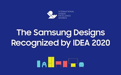 Samsung ตอกย้ำความเป็นผู้นำด้านนวัตกรรม กวาด 48 รางวัลจากงาน IDEA 2020
