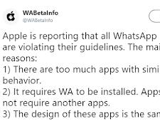 Alasan Kenapa Stiker WhatsApp Di Hapus Pada AppStore