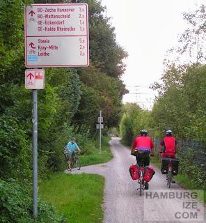 Essen, Emscherpark-Radweg