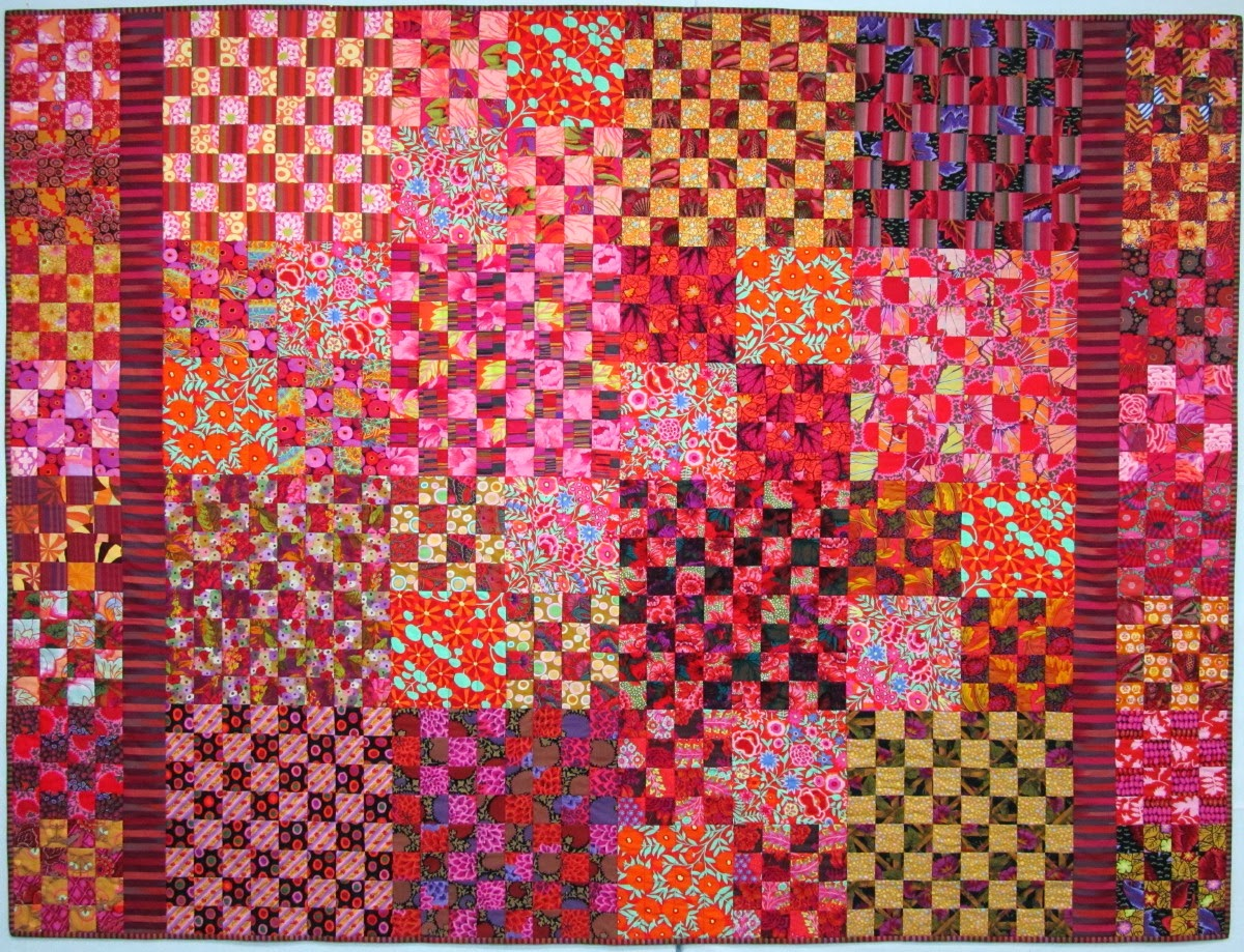 Exuberant Color Quilts With Kaffe Fassett Fabric