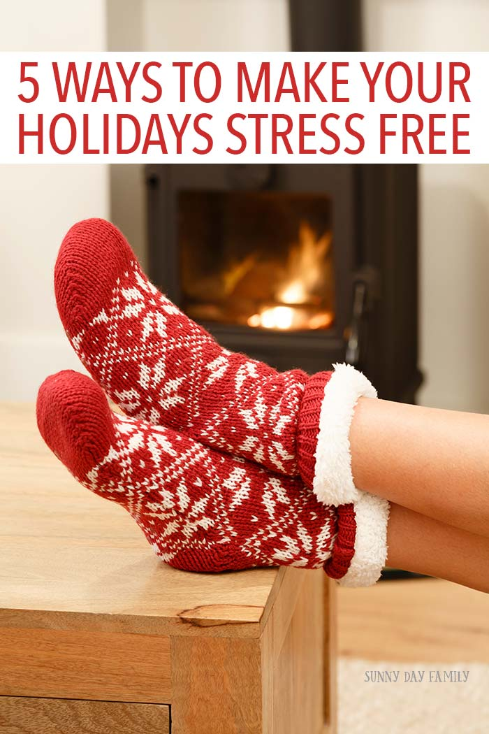 Ready to enjoy your holidays and lose the stress? Follow these easy tips and you'll get through the holiday season and actually enjoy your family time!
