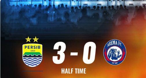 HT: Persib Bandung vs Arema FC 3-0 Highlights