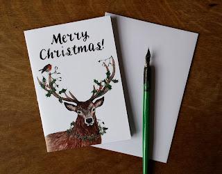 Alice Draws The Line :: Merry Christmas Deer