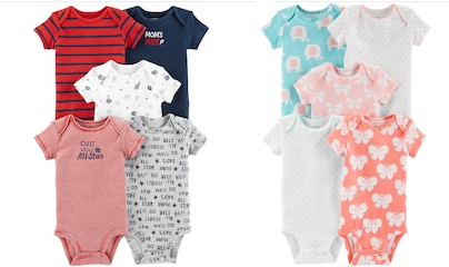 82747ee63cdfa Kohl's 5 Pack Carter's baby body suits are on sale for just $11.99, down  from $26.