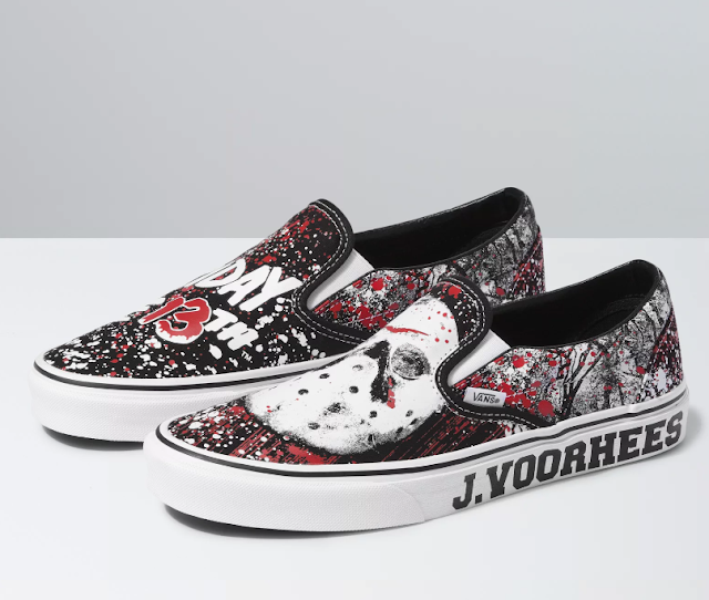 Vans X Friday the 13th Classic Slip-on