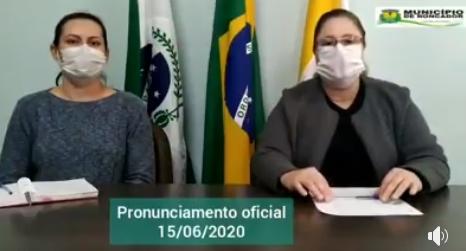 Prefeita e Secretária de Saúde explicam os seis casos confirmados de coronavírus em Roncador