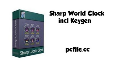 Sharp World Clock 9.0.1 incl Keygen Free Download