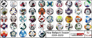 New Ballpack Season 19-20 By EsLaM V20.10 For PES 17 PC
